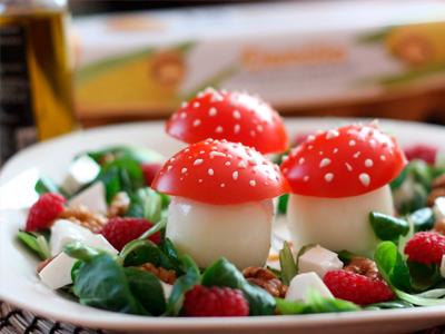 Ensalada fresca de Huevos Seta Demillo