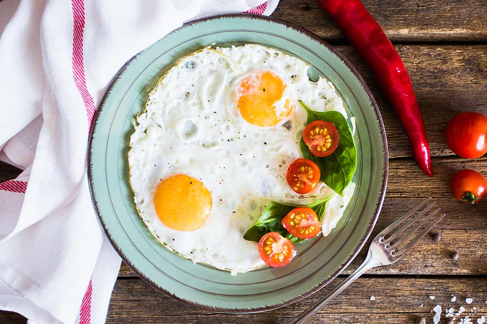 ¿Comer huevos para adelgazar?